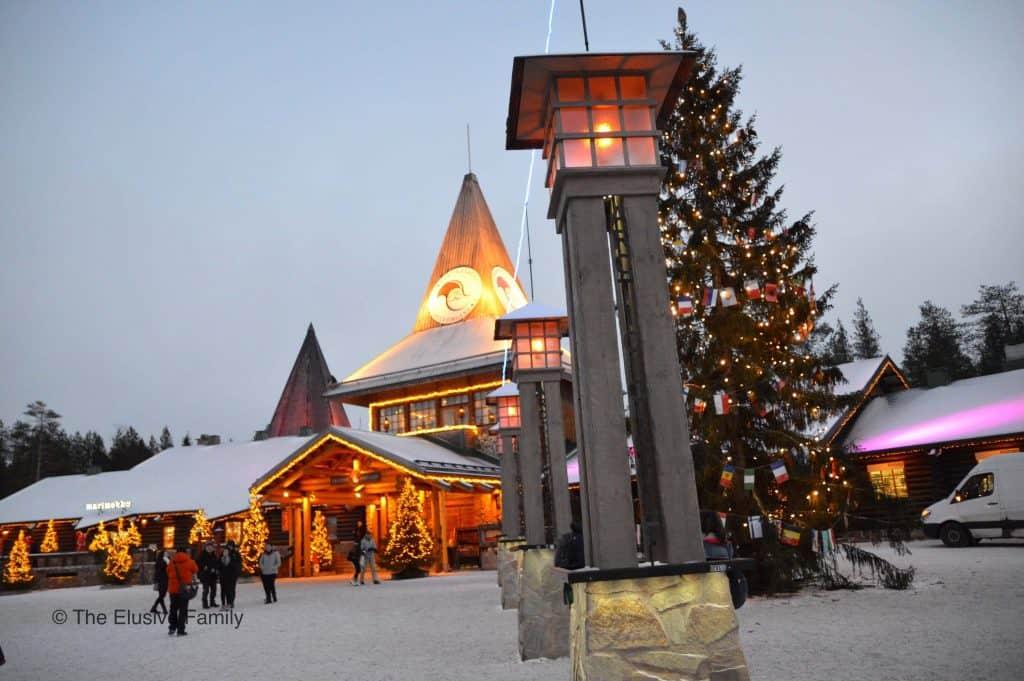Rovaniemi Finland in winter - Best Christmas in Europe