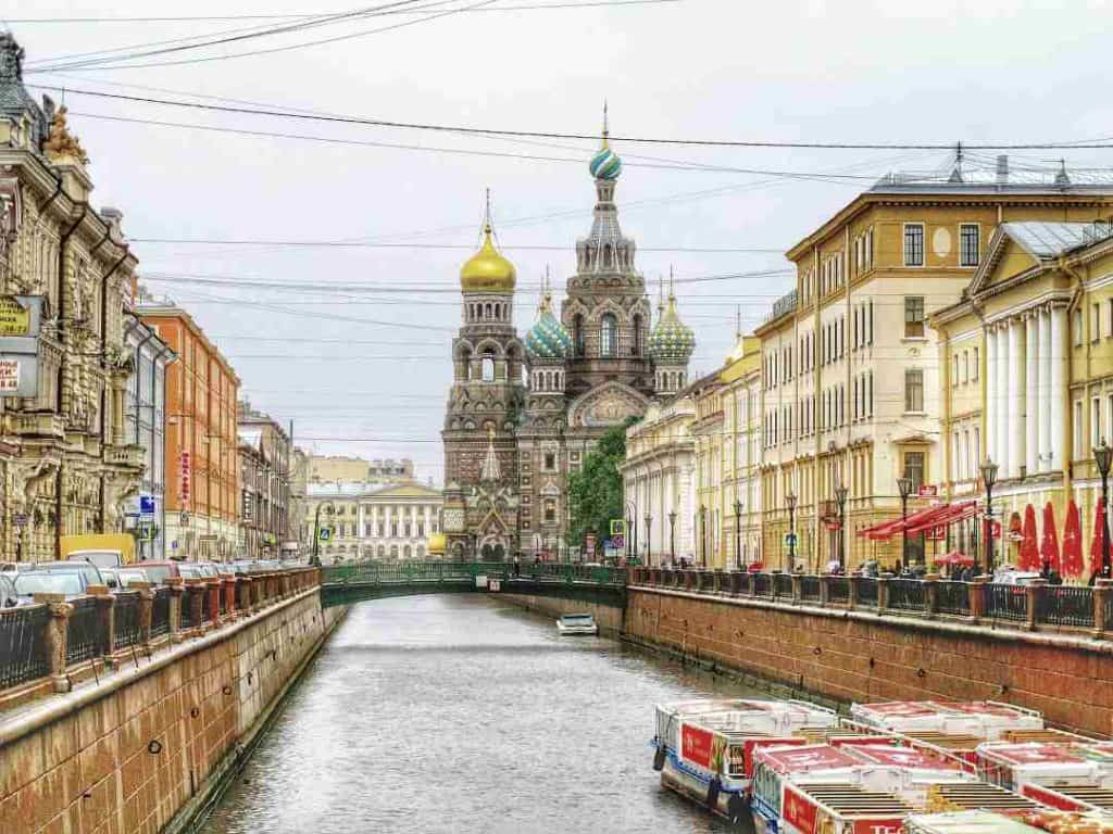 St Petersburg A Rai of Light