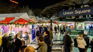 Union Square Holiday Market in NYC - Urban Space New York