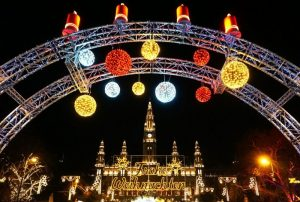 Vienna Christmas market winter holiday destinations