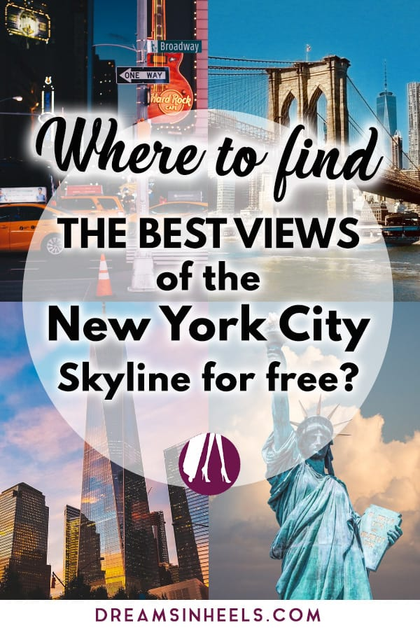 Where to find the best views of the New York City Skyline for free