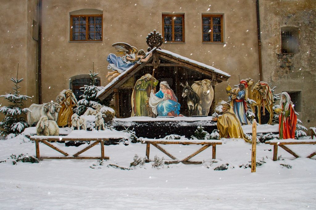 christmas traditions in austria