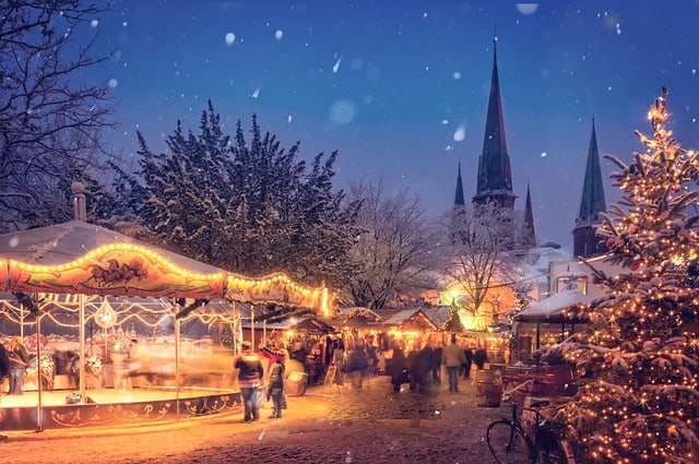 Best places to spend Christmas in Europe - Winter Holiday Destinations during Christmas!