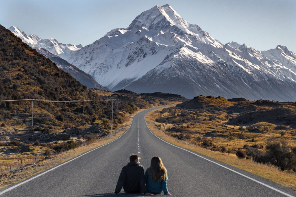 mount cook national park new zealand