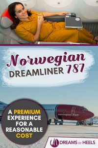 Norwegian 787 Dreamliner Premium Cabin Review - A Premium Experience for a reasonable cost!