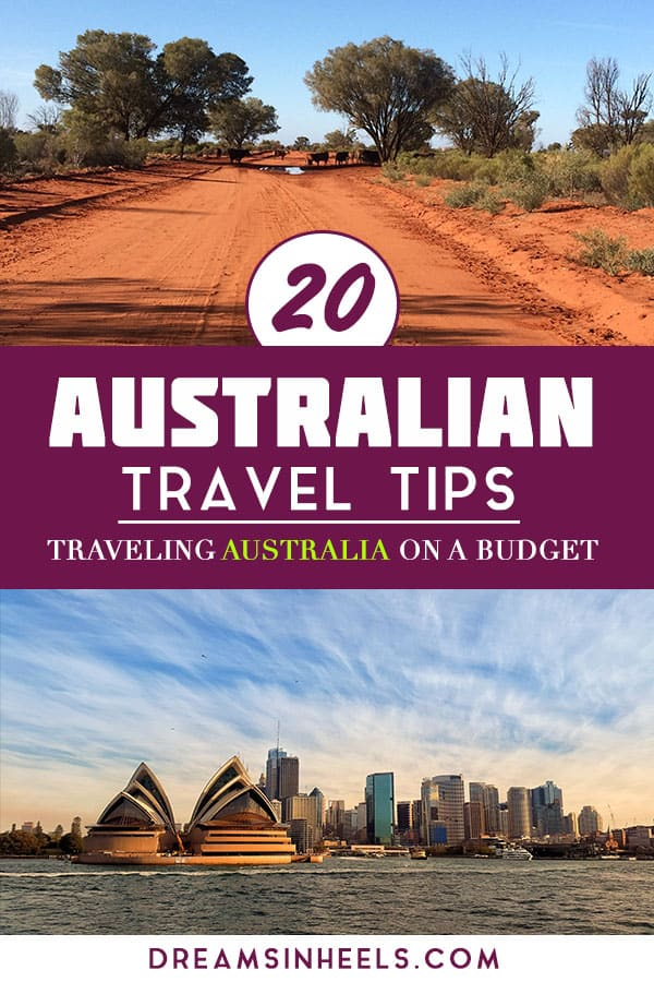 20 Australian Travel Tips - Traveling Australia On a Budget