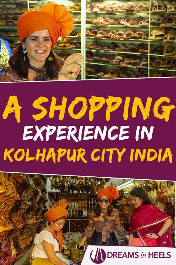 Kolhapur Shopping: Kolhapuri Shoes, Maharashtrian Traditional Sarees in Kolhapur City, Maharashtra India