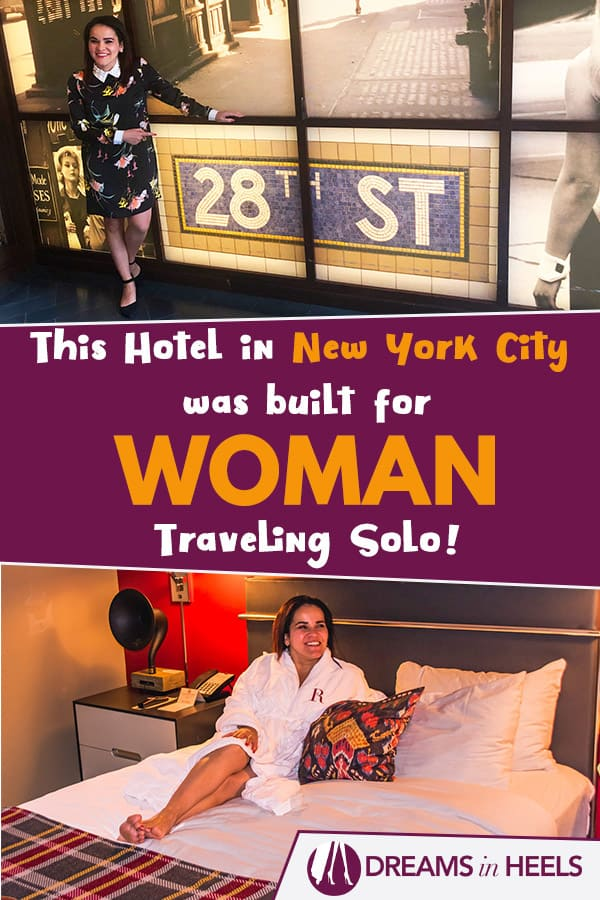 This hotel in New York City was built for women traveling solo and is still predominantly run by women professionals