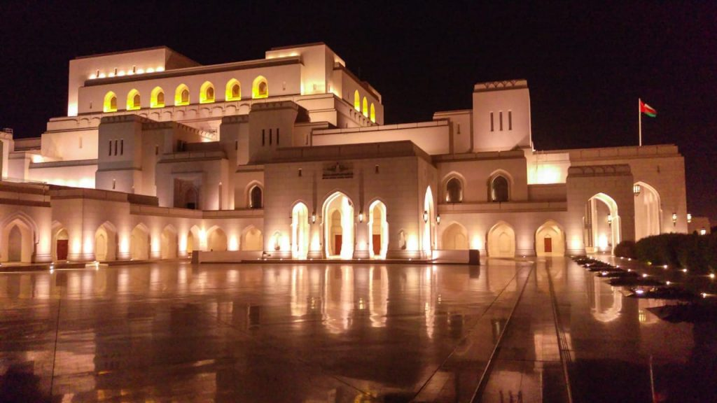 Royal Opera House in Oman