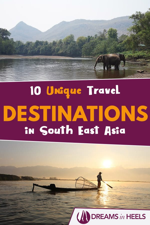 10 Unique Travel Destinations in Southeast Asia - Best places to go in Southeast Asia!