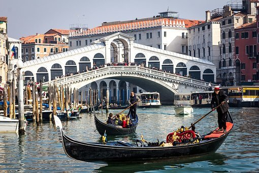 famous grand canale venice italy