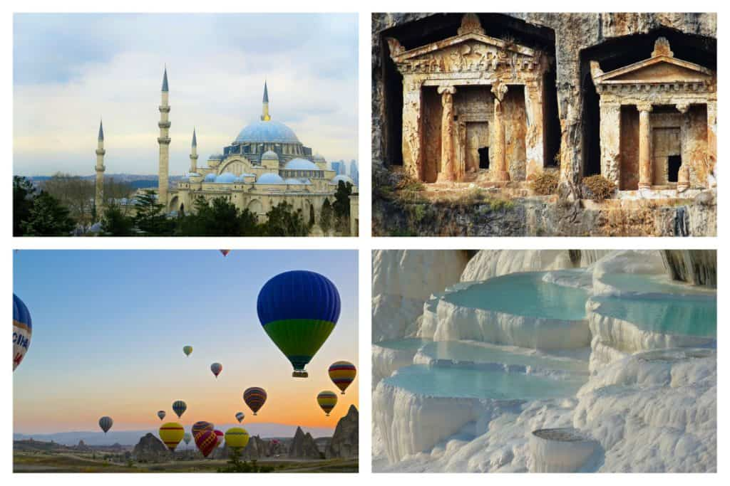 Best places to visit in Turkey beyond Istanbul