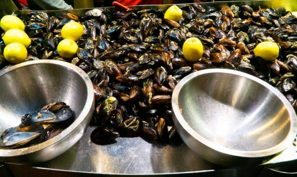 Midye Dolma Traditional Turkish Dishes - Stuffed Mussels