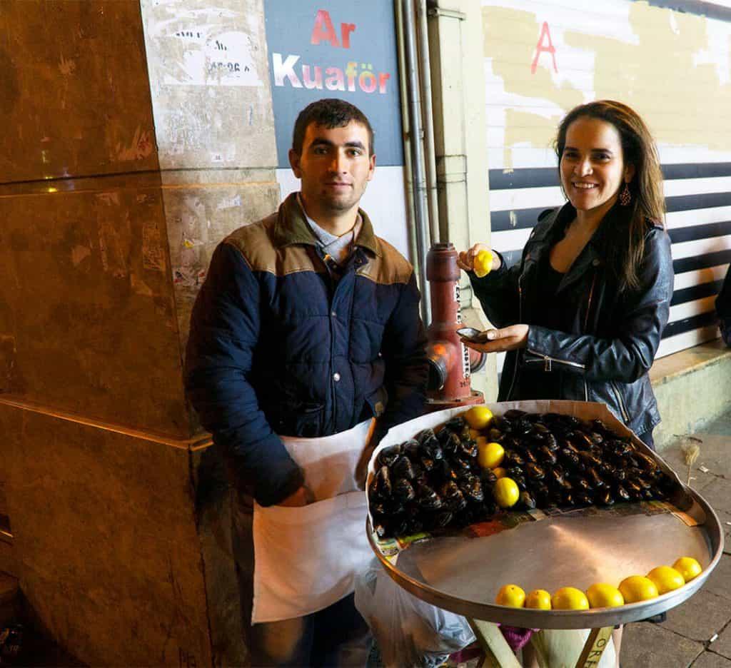 Midye Dolma Traditional Turkish Snacks