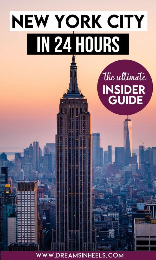 24 Hours In Nyc A One Day In New York Itinerary By A New Yorker