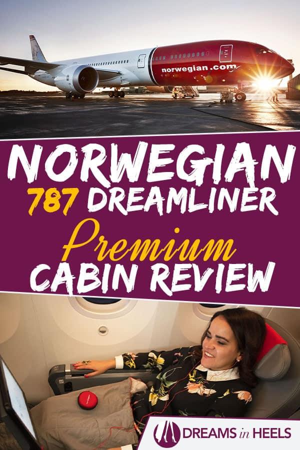 Norwegian 787 Dreamliner Premium Cabin Review - A Premium