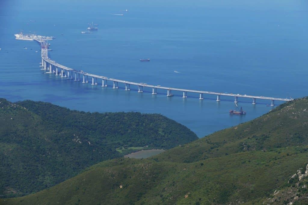 Pearl River Delta Region journey- Hong Kong - Zhuhai - Macau Bridge
