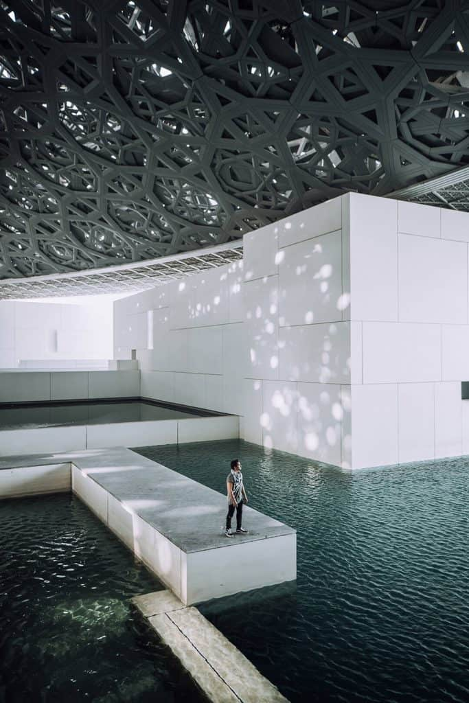 The Louvre in Abu Dhabi