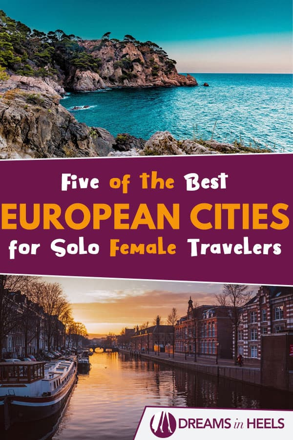 Europe and city breaks go hand in hand. But which of these cultural and historic hotspots are best for solo female adventurers? Here\'s five essential stops of the best European cities for solo female travelers for next time you\'re after a solo travel getaway... #solofemaletravel #europe