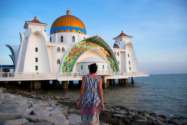 Melaka-Water-Mosque-Malaysia-Dreams-in-Heels