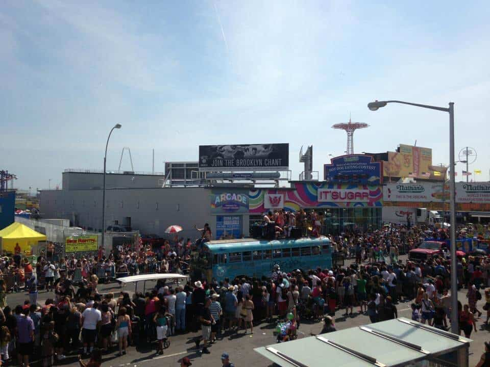 The largest art parade in the US - Coney Island Mermaid Parade Brooklyn NYC
