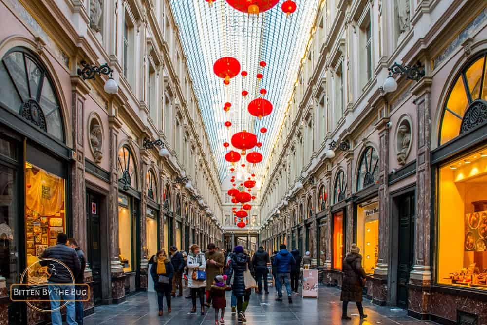 brussels - belgium - galeries royales