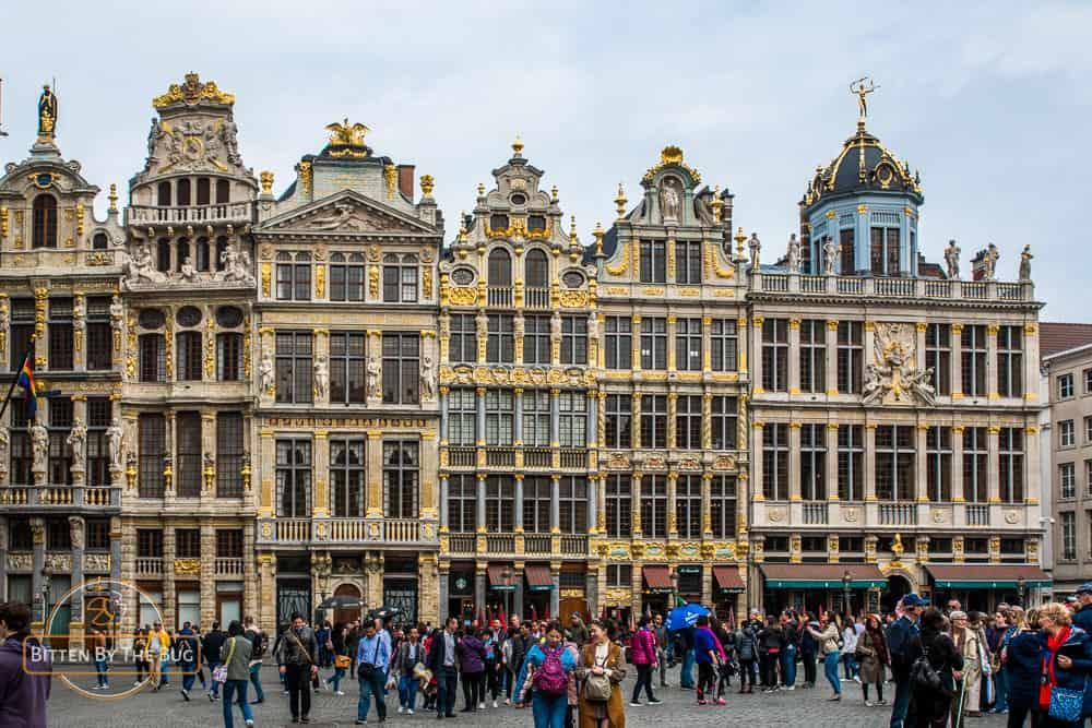 brussels - belgium - grand place