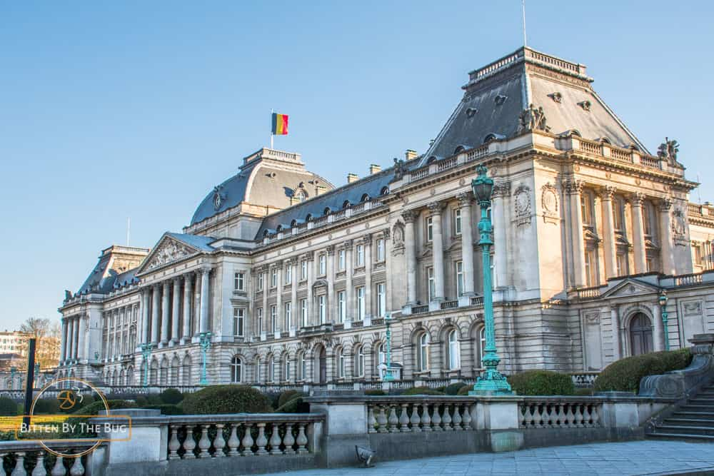 brussels - belgium - royal palace