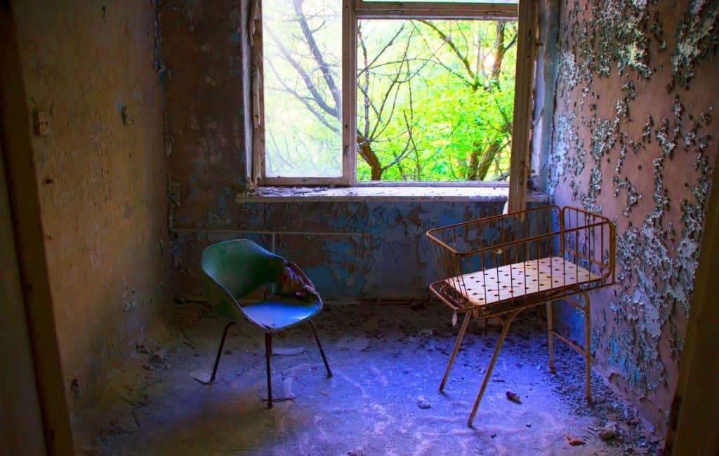 chernobyl disaster - chernobyl today nursery in pripyat ghost town