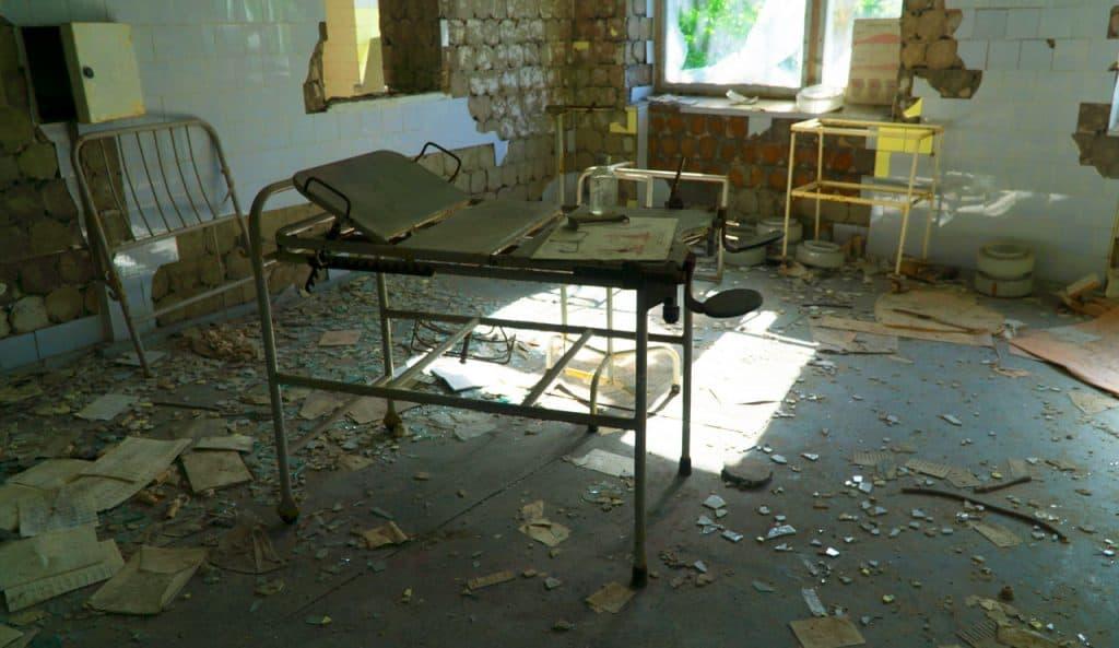 chernobyl pripyat hospital - is it safe to visit chernobyl today