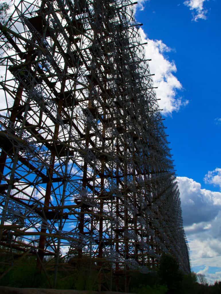 chernobyl today - the duga radar - russian woodpecker