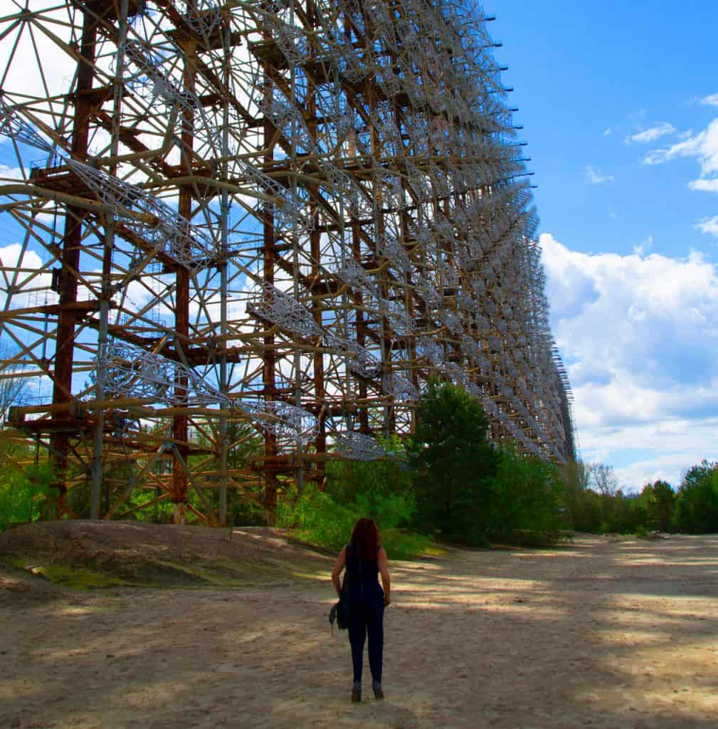 chernobyl today - the duga radar - russian woodpecker - chernobyl exclusion zone