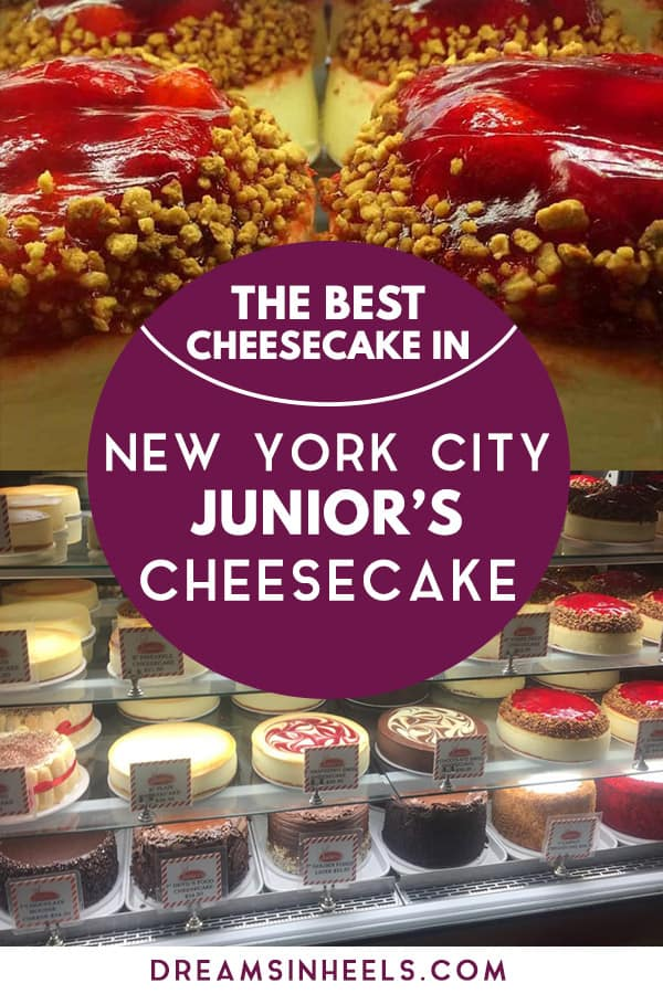 Junior's Cheesecake NYC is without doubt the best cheesecake in New York City, a real classic New York treat you must try. This famous New York cheesecake has been around since 1950. If you only have 24 hours in NYC, you must not miss trying one of Junior's original New York cheesecakes (a real New York Treat) and, if you have more time, I am sure that you will keep going back for more. Here are a some tips for your visit! #JuniorsCheesecake #NewYorkCheesecake #Cheesecake #Bestcheesecake...
