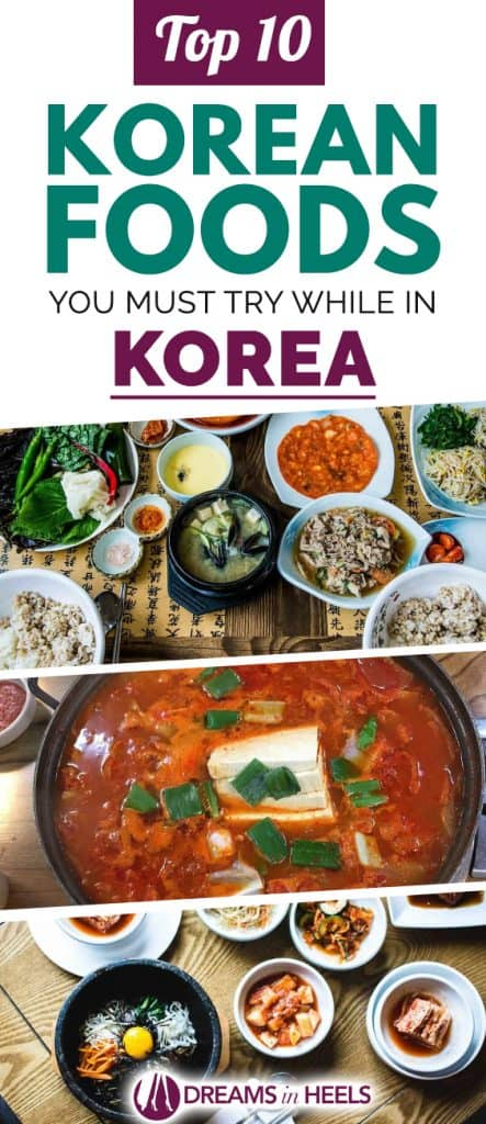 Korean foods you must try while in Korea