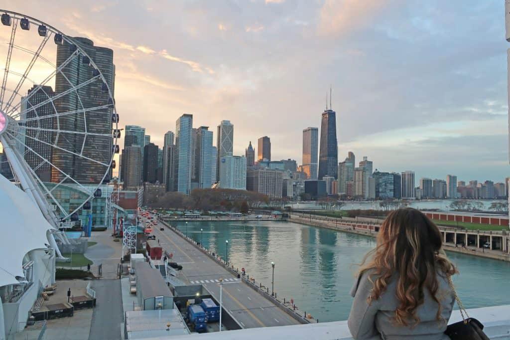 3-days-in-Chicago-itinerary-Navy Pier Parking Garage-USA