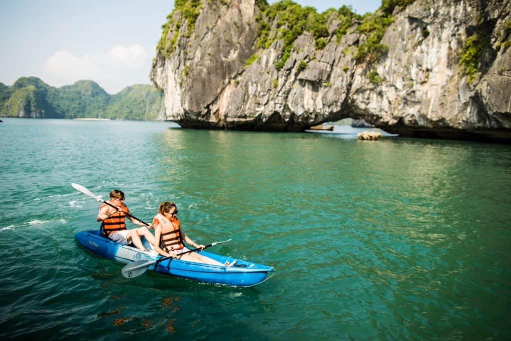 Bhaya-cruises-Kayak-experience-halong-bay