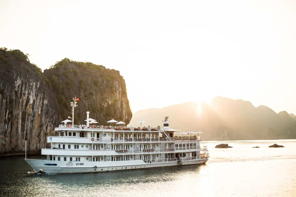 Bhaya-cruises-in-halong-bay-sustainable tourism in vietnam
