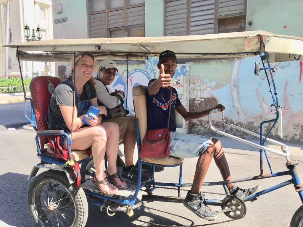 Bicitaxi Cuba Travel