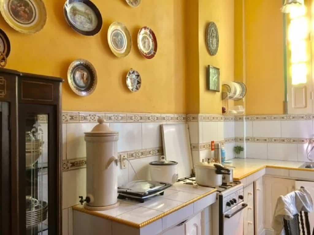 Casa particular kitchen in Cuba