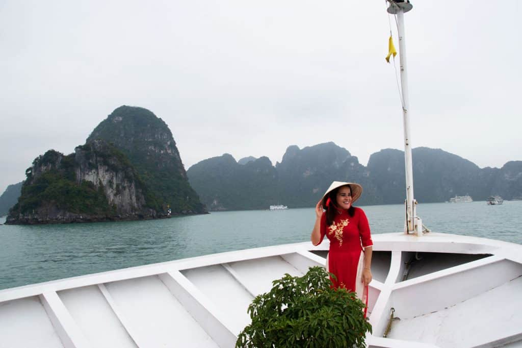 Dreams in Heels aboard the Halong Bay Luxury Cruise - Ancora Cruises
