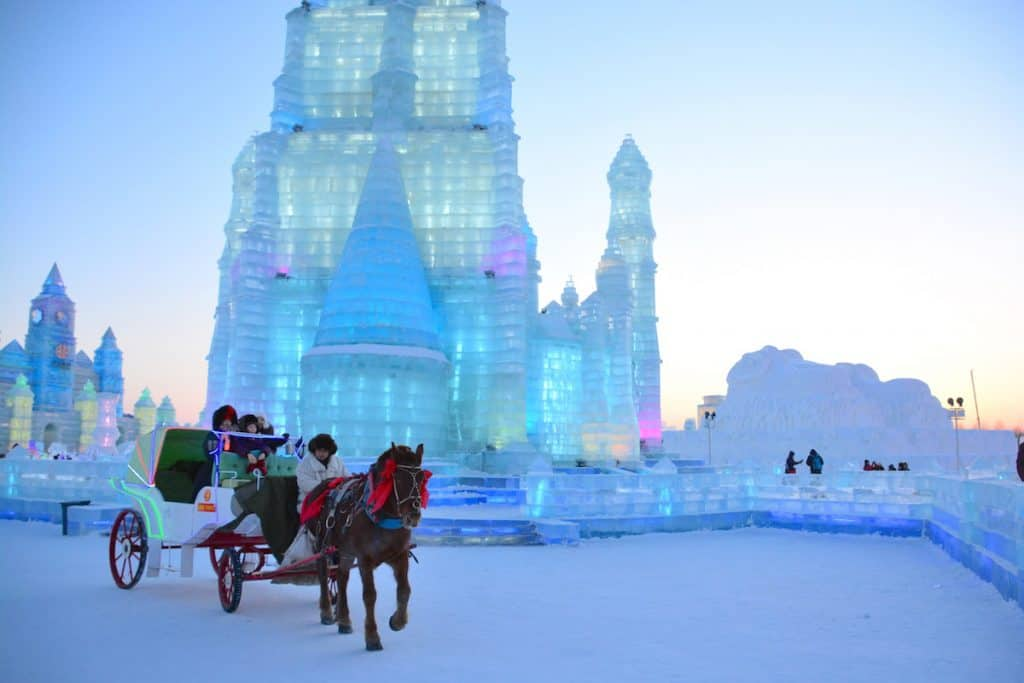 Harbin-China-Chinese-City