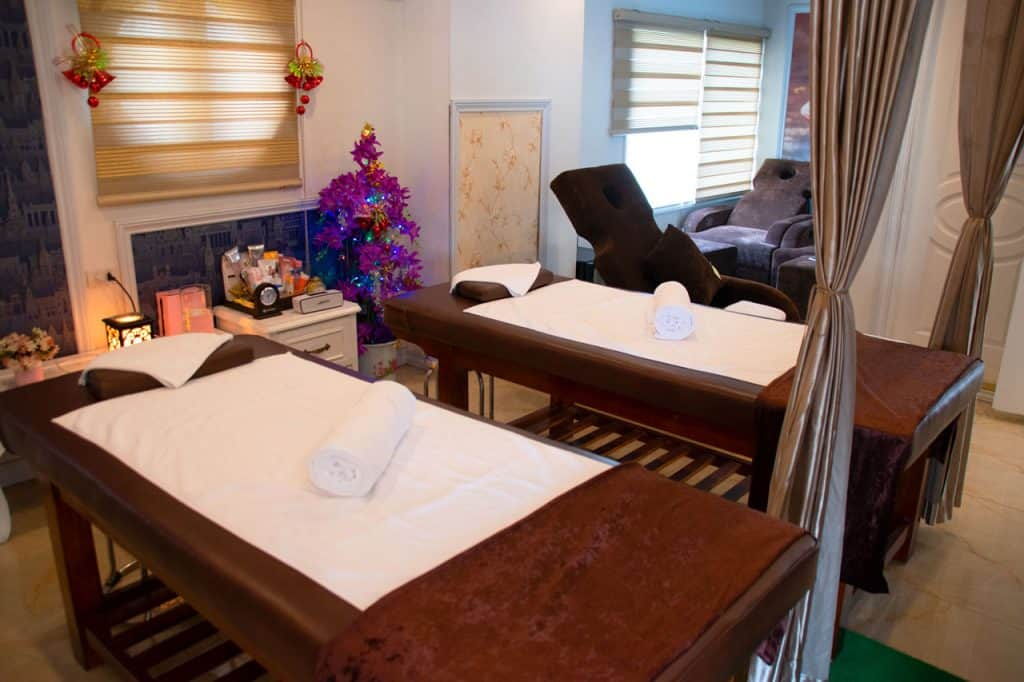 Spa option - Ancora Cruises - luxury cruise in Halong Bay Vietnam