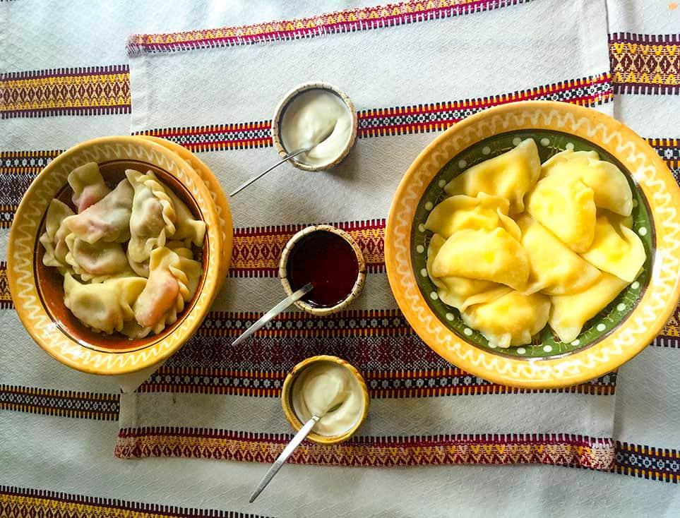 Vareniki - Ukrainian Food