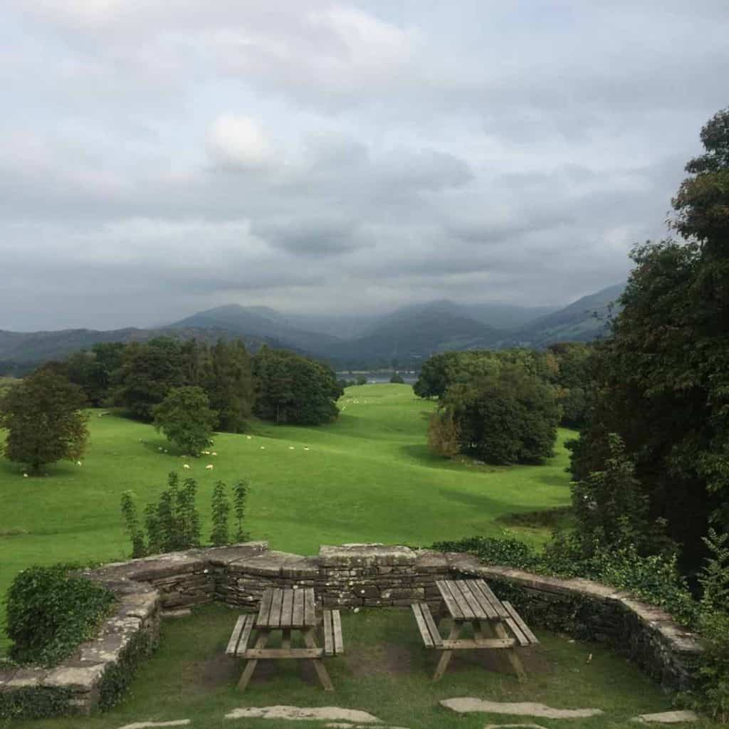 Wray Castle, Lake District, UK