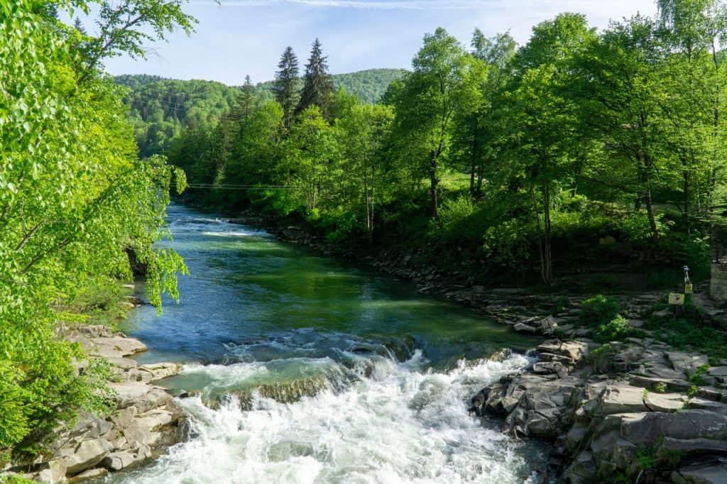 Yaremche - Carpathian Mountains Ukraine Travel