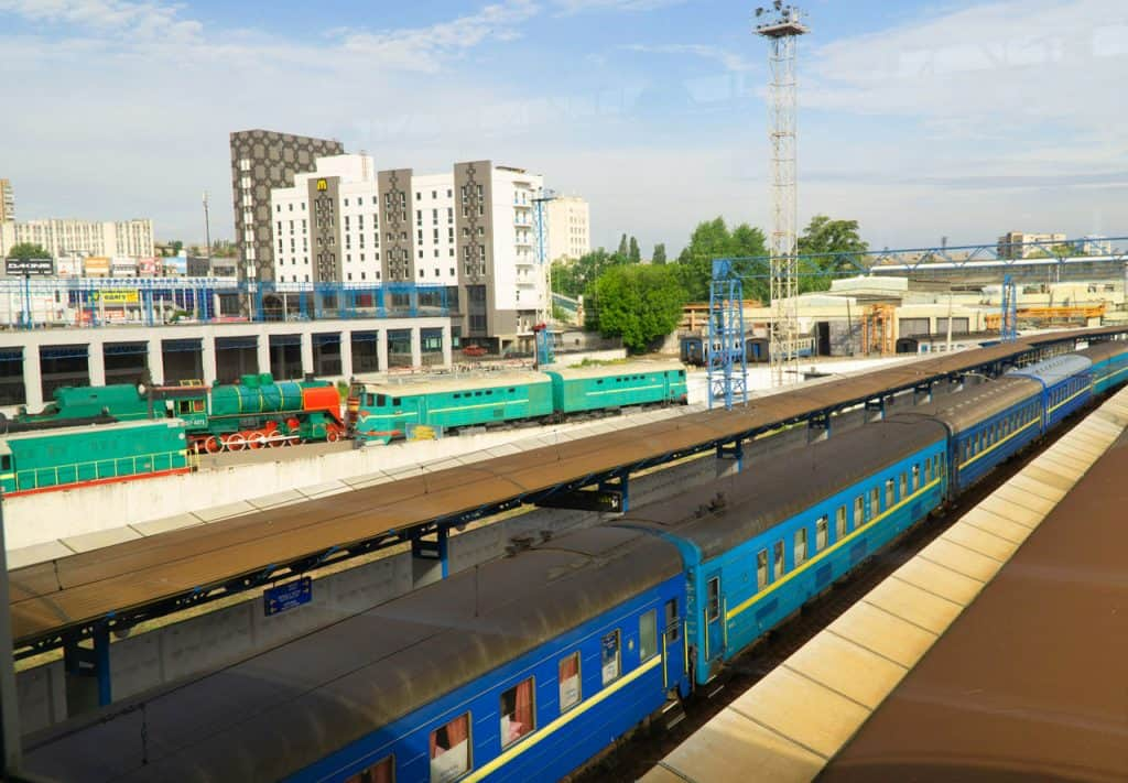 getting around Ukraine - Train Travel in Ukraine transportation