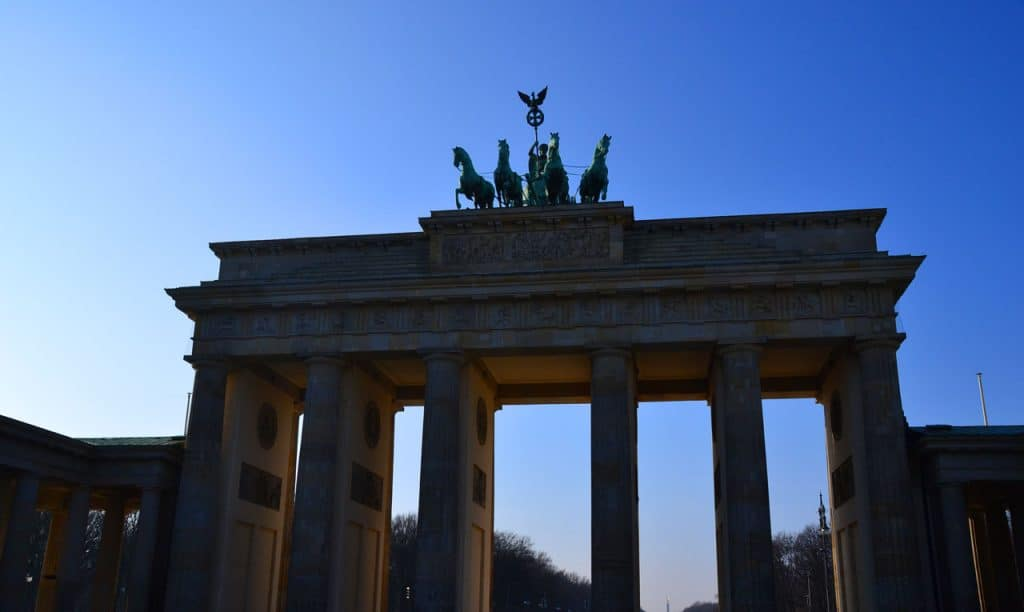 Brandenburg Gate in Berlin Germany Travel