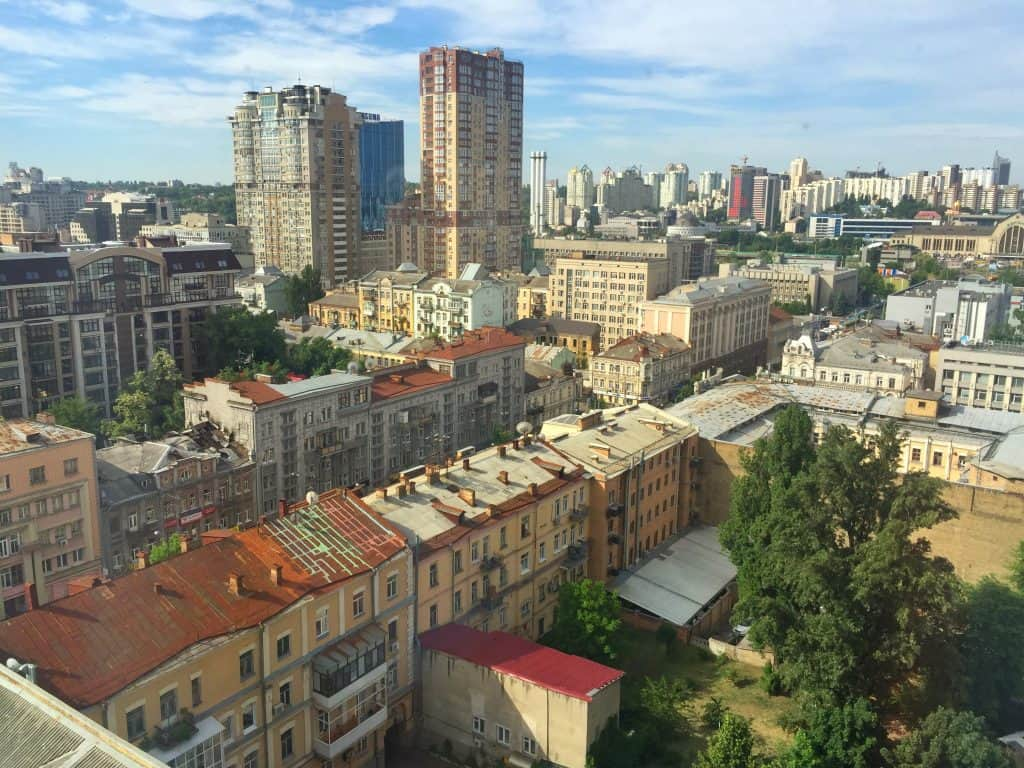 Hotel Ibis Kiev City Center view from my room - Kyiv Hotel