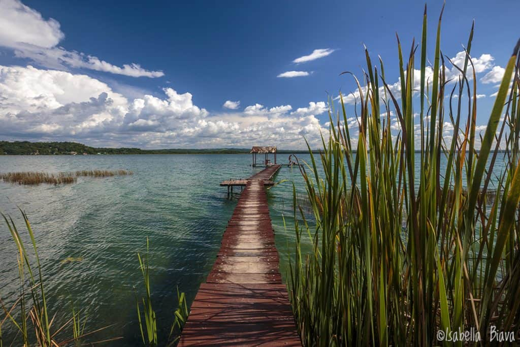 Lago Petenitza from El remate guatemala