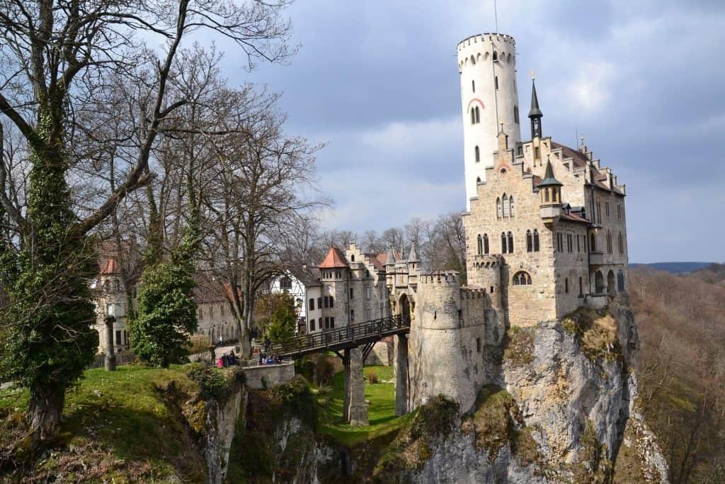 Lichtenstein castle to see in Germany